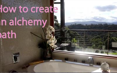 How to create an Alchemy bath
