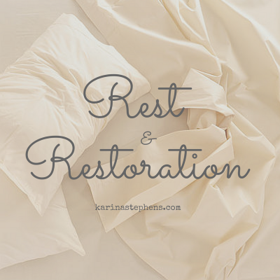 Rest and Restoration – What it means to slow down and StressLess