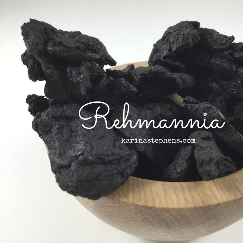 Rehmannia, supporting adrenal function