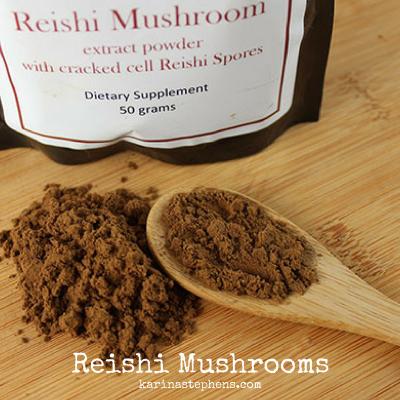 "Reishi mushroom, AKA the ""Mushroom of Immortality"""